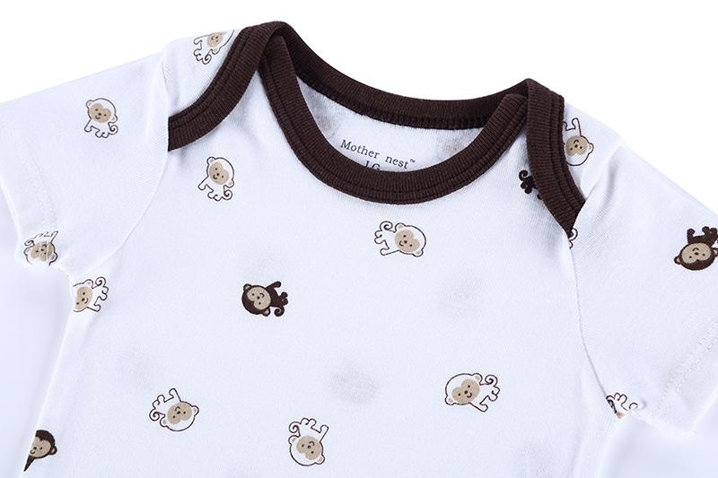 Promotion!2015 New Roupas De Bebe 25 Style Baby Girls&Boys Costume Monkey Printed Infant Baby Bodysuit New Born Baby Clothes (2).JPG