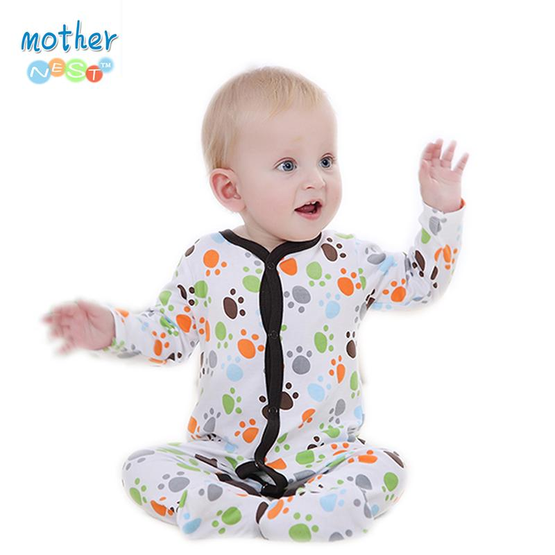 Newborn Baby Girl Boy Clothes Cotton Cartoon Printed Long Sleeve Baby Rompers Bebek Giyim Christmas Similar Carter Baby Clothing.jpg
