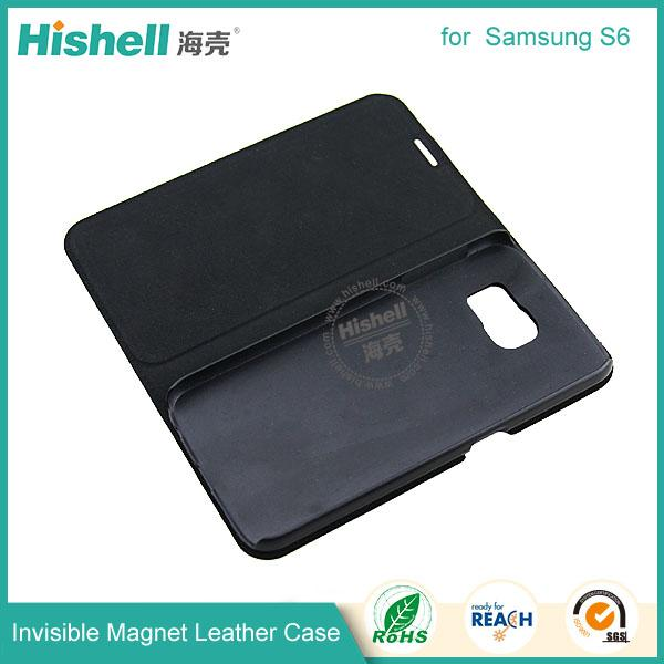 Invisible Magnet Leather Case for samsung s6-6.jpg