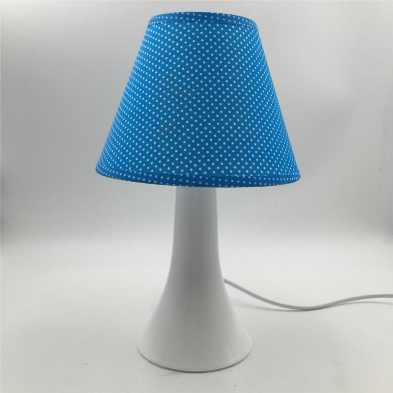 布艺白塑台灯 蓝色点点.jpg