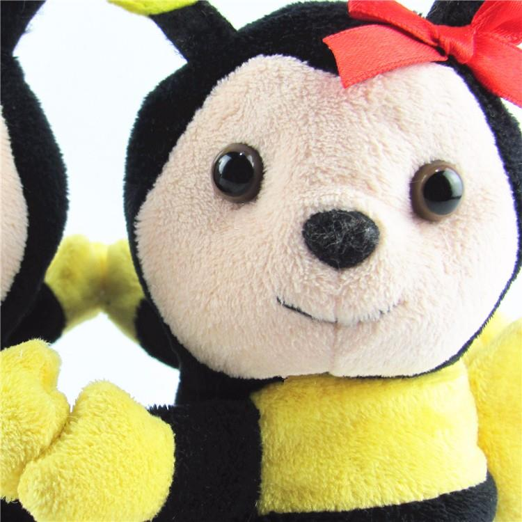 Yellow honey bee plush toys02.jpg