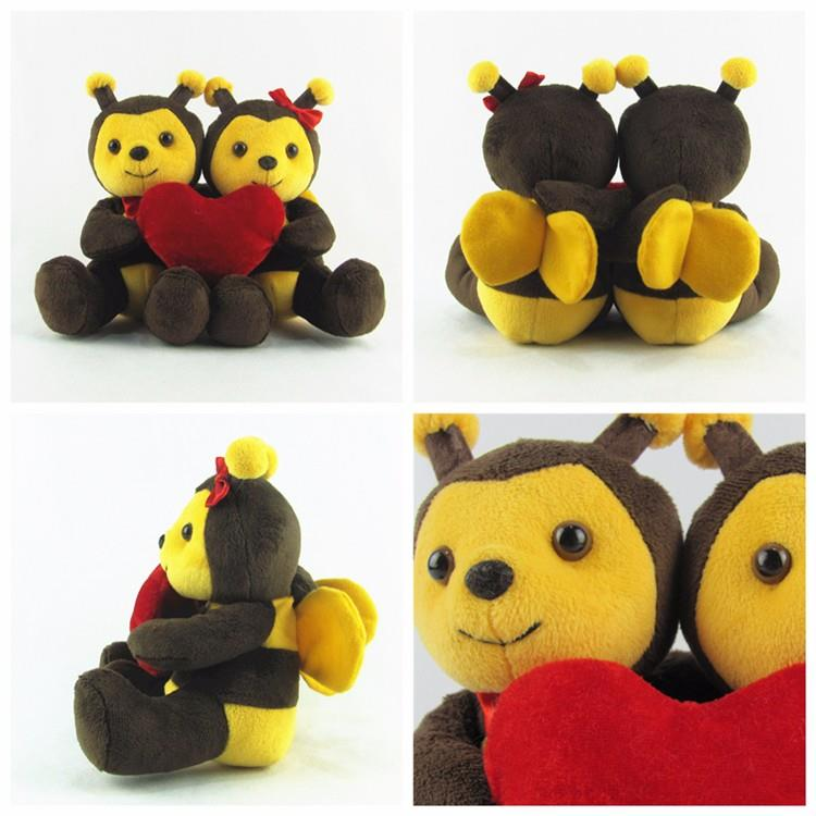 Hot sale farm bee lovers plush toys.jpg