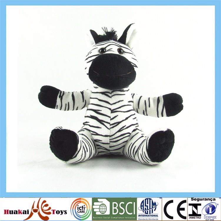 customized new fashion  pet zebra animal plush toy.jpg