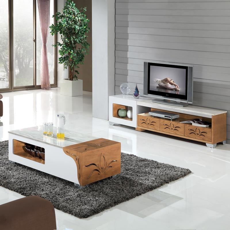 Buy Hot selling MDF with marble top display cabinet from China