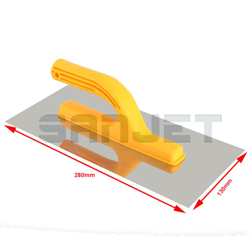 SANJET 280mm Stainless Steel Finishing Trowel with Plastic Handle 2 logo.jpg