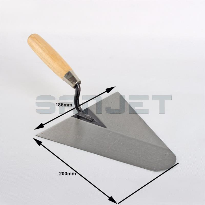 SANJET 200mm Carbon Steel Gauging Trowel with Wooden Handle 2 logo.jpg