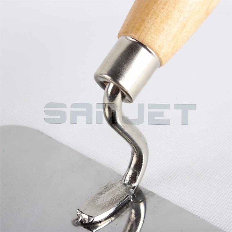 SANJET 180mm Stainless Steel Gaunging Trowel with Wooden Handle 3 logo.jpg