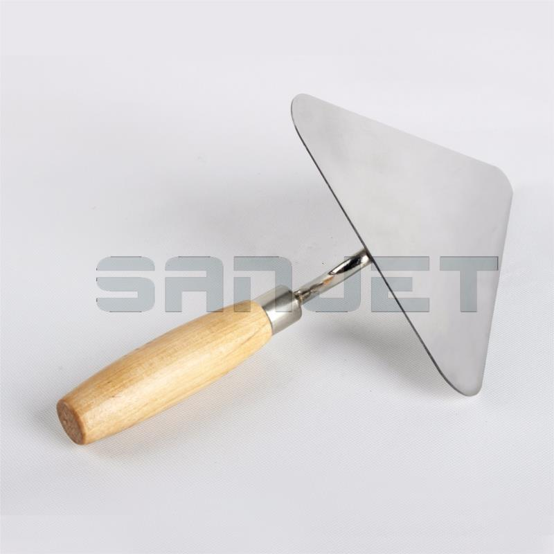 SANJET 180mm Stainless Steel Gaunging Trowel with Wooden Handle 5 logo.jpg
