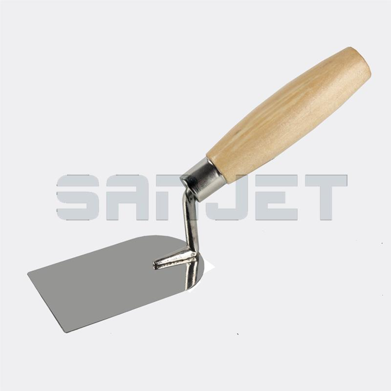 SANJET 100mm Stainless Steel Margin Trowel with Wooden Handle 1 logo.jpg