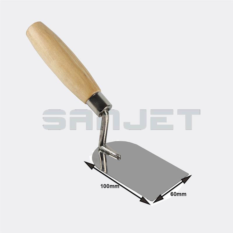 SANJET 100mm Stainless Steel Margin Trowel with Wooden Handle 2 logo.jpg