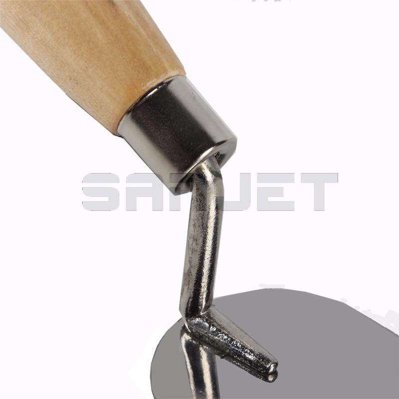 SANJET 100mm Stainless Steel Margin Trowel with Wooden Handle 3 logo.jpg
