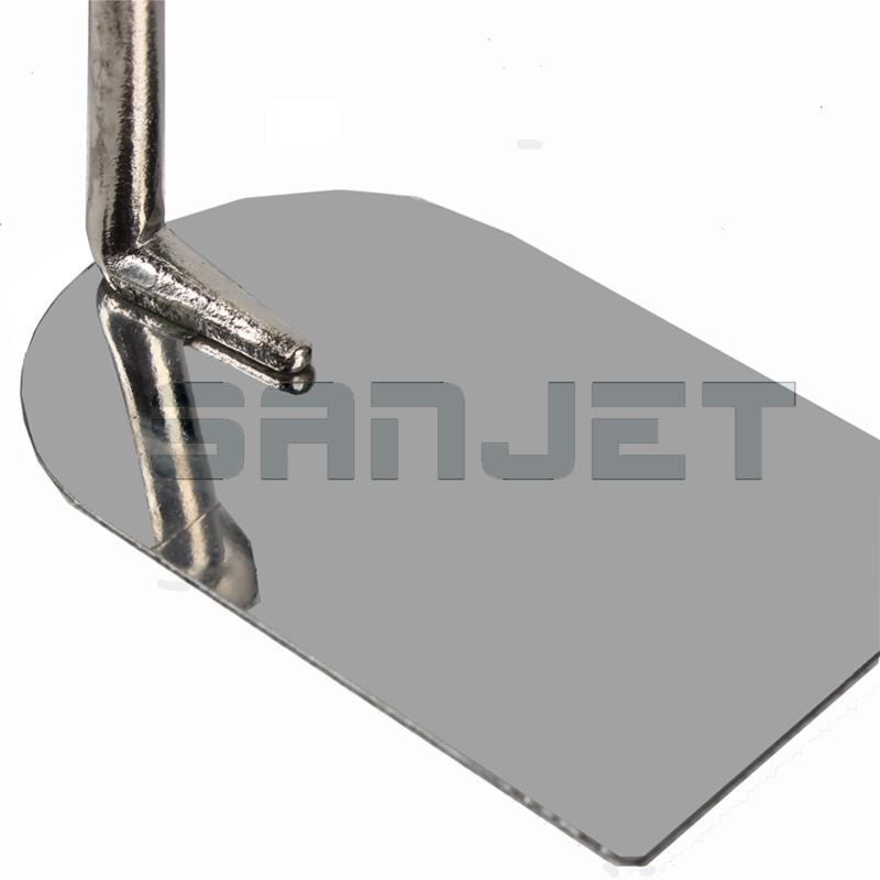 SANJET 100mm Stainless Steel Margin Trowel with Wooden Handle 4 logo.jpg