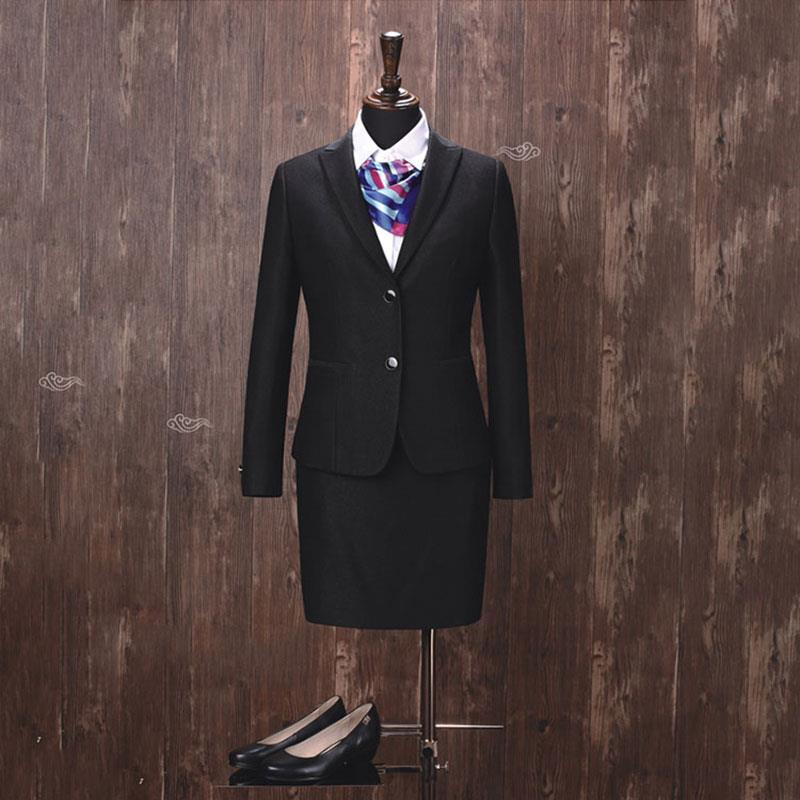 09deedcaebe Latest design ladies formal office suit styles office skirt suit custom  women's suits
