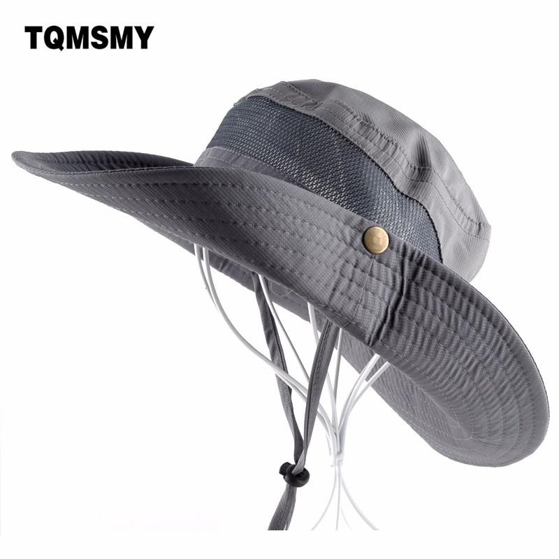 Buy Sun Hat men Bucket Hats women Summer Fishin Cap Wide