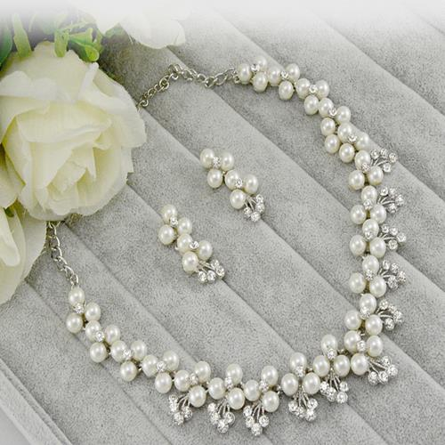 The Bride Adorn Article Korean Diamond Pearl Chain A Wedding Accessories Dress Suit